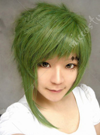Vocaloid Gumi Poker Face Cosplay Wig