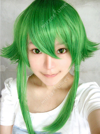 Vocaloid Gumi Version2 Cosplay Wig