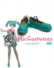 Vocaloid Hatsune Miku Project DIVA 2nd Colorful Drop Cosplay Shoes