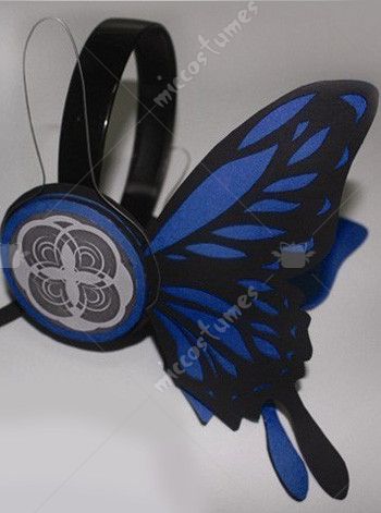 Vocaloid KAITO Cosplay Headphone
