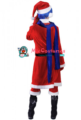 Vocaloid Kaito Christmas Cosplay Costume