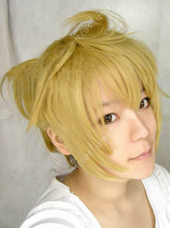 Vocaloid Len Thousand Sakura Cosplay Wig