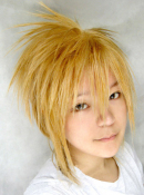 Vocaloid Len the Sandplay Singing of The Dragon Cosplay Wig