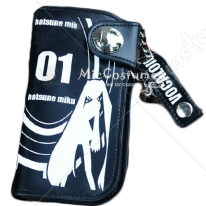 Vocaloid Miku Bifold Long Snap Fastener Wallet