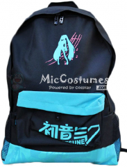 Vocaloid MIKU Black Nylon Backpack