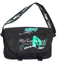 Vocaloid MIKU Black Satchel