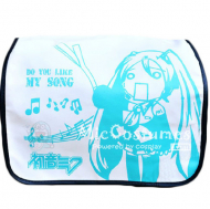 Vocaloid MIKU Leekspin White Shoulder Bag