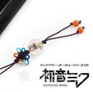 Vocaloid Miku Phone Chain