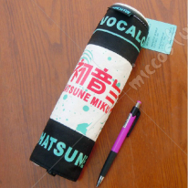 Vocaloid Miku Scroll Pencil Bag