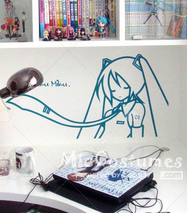 Vocaloid MIKU Wall Sticker