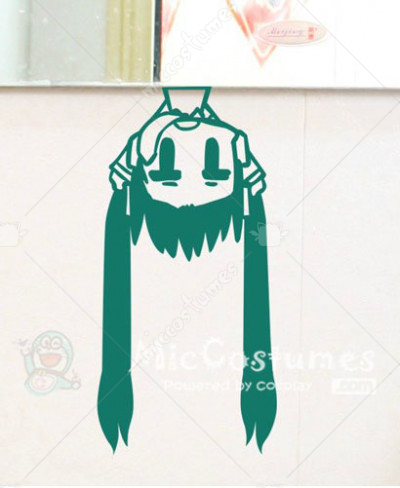 Vocaloid MIKU Waterproof Wall Sticker