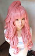 Vocaloid Megurine Luka Ryuuno Naku Hakoniwa Yori Cosplay Wig