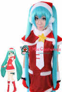 Vocaloid Miku Christmas Cosplay Wig