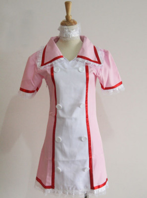 Vocaloid Miku Hatsune Nurse Cosplay Costume