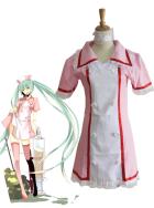 Vocaloid Miku Hatsune Nurse Cosplay Costume