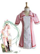 Vocaloid Miku Hatsune Infermière Cosplay Costume