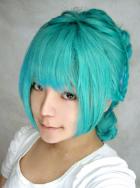 Vocaloid Miku Secret Cosplay Wig