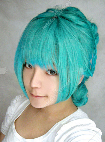Vocaloid Miku Secret Cosplay Wig