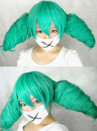 Vocaloid Miku Secret Police Cosplay Wig