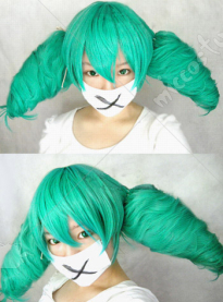 Vocaloid Miku Secret Police Cosplay Wig