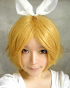 Vocaloid Rin Secret Police Cosplay Wig