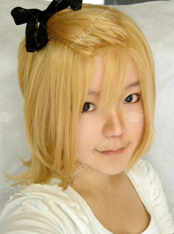 Vocaloid Rin Type H band Cosplay Wig