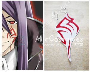 Vocaloid Sandplay Singing of The Dragon Cosplay Tattoo Sticker