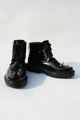 Vocaloid Secret Police Len Cosplay Shoes