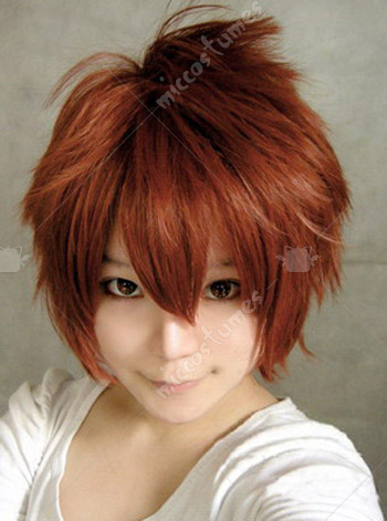 Vocaloid Secret Police Meiko Cosplay Wig