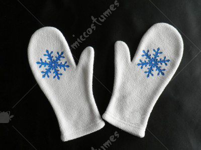 Vocaloid Snow Gloves