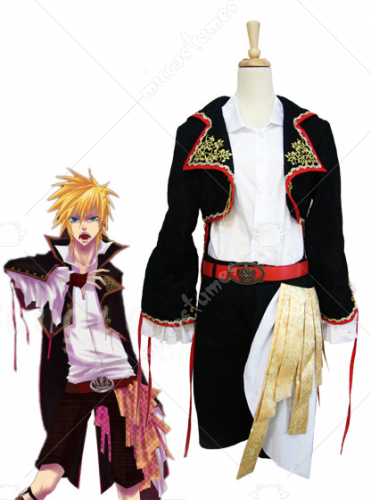Vocaloid The Sandplay Singing of The Dragon Len Cosplay Costume