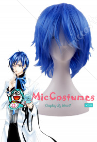 Vocaloid the Sandplay Singing of The Dragon Kaito Cosplay Perruque