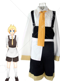 Vocaloid Human Sacrifice Len Cosplay Costume