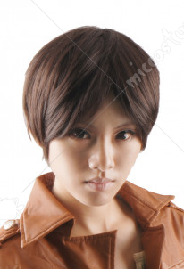 Attack on Titan Eren Yeager Cosplay Perruque