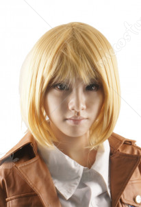 Attack on Titan Armin Arlert Cosplay Perruque