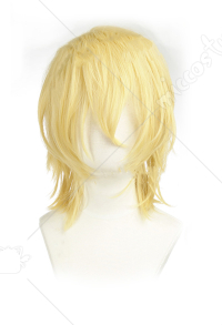Fire Emblem Three Houses Dimitri Alexandre Blaiddyd Short Golden Cosplay Wig