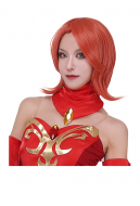 Dota2 Lina the Slayer Cosplay Wig