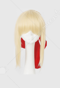 Fate/EXTRA Fate Grand Order FGO Nero Saber Claudius Princess Cosplay Wig