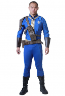Fallout 4 Sole Survivor Male Cosplay Costume with Belts Set