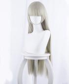 Kakegurui – Compulsive Gambler Momobami Ririka Blue-Gray Long Cosplay Wig