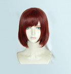 Kingdom Hearts III Kairi Reddish Brown Short Cosplay Wig