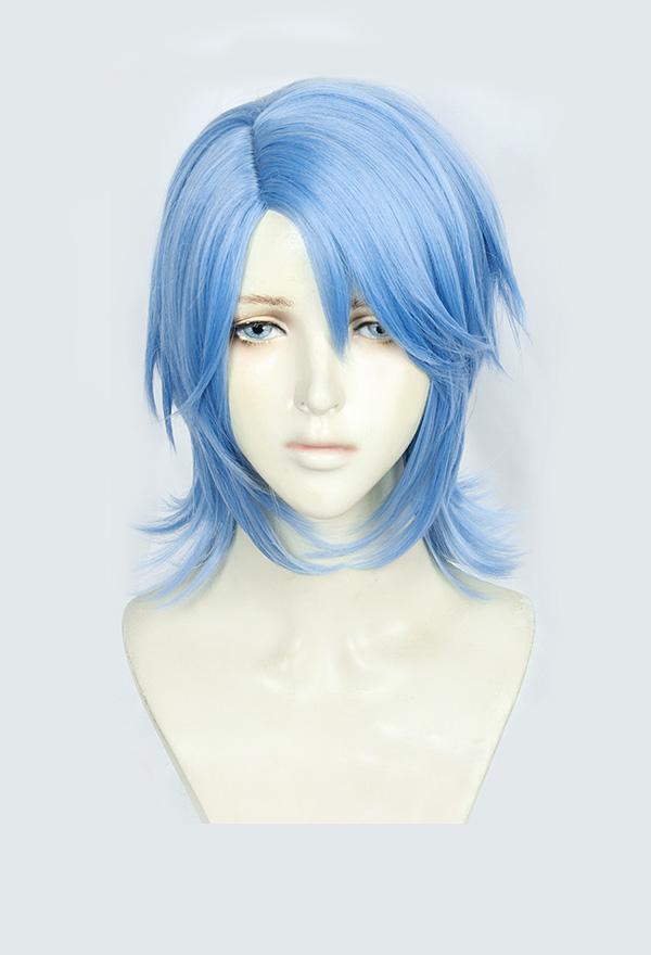 Kingdom Hearts 3 kh 3 Aqua Cosplay Perücke