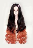 Demon Slayer Kimetsu no Yaiba Nezuko Kamado Kimono Cosplay Wig