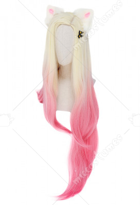 KDA Ahri cosplay wig League Of Legends lace front