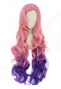 League of Legends Seraphine Cosplay Long Wig