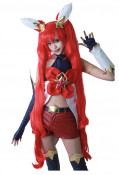 League of Legends Star Guardian Jinx Cosplay Wig