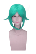 Land of the Lustrous Phosphophyllite Green Anti-Warping Cosplay Wig