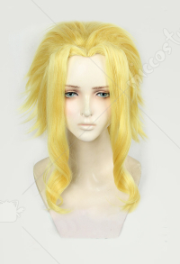 My Hero Academia All Might Yellow Cosplay Wig