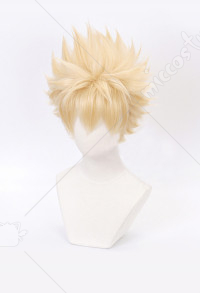 My Hero Academia Bakugou Katsuki Light Flax Cosplay Wig