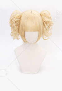 My Hero Academia Himiko Toga Blonde Cosplay Wig